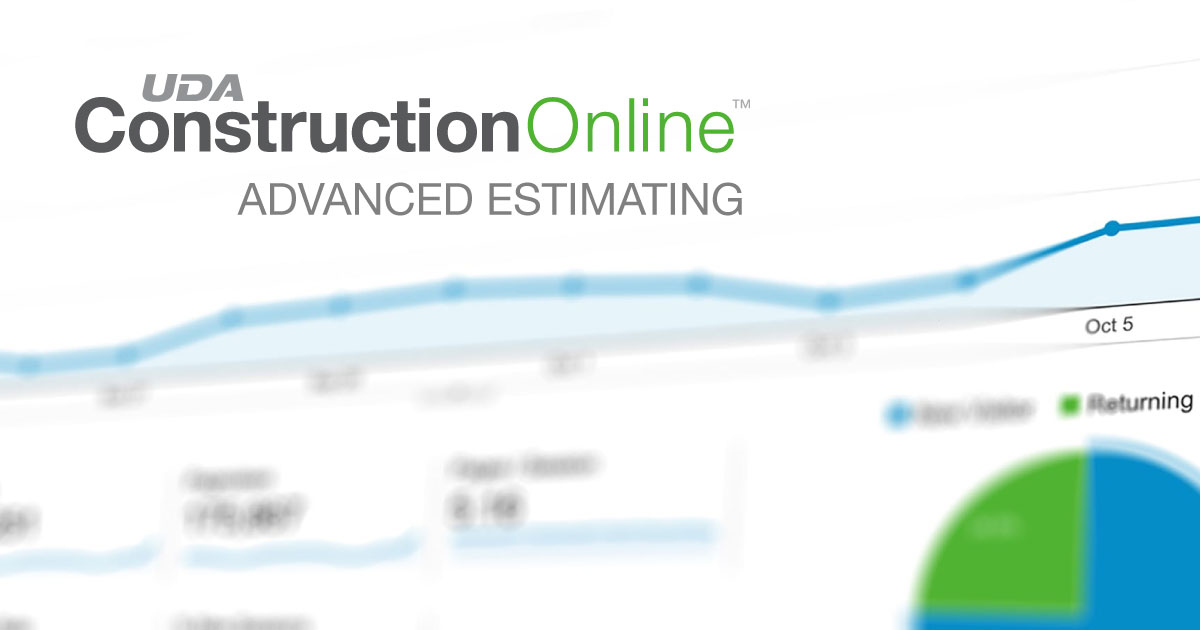 ConstructionOnline 2020 Delivers Highly-Anticipated Advanced Estimating
