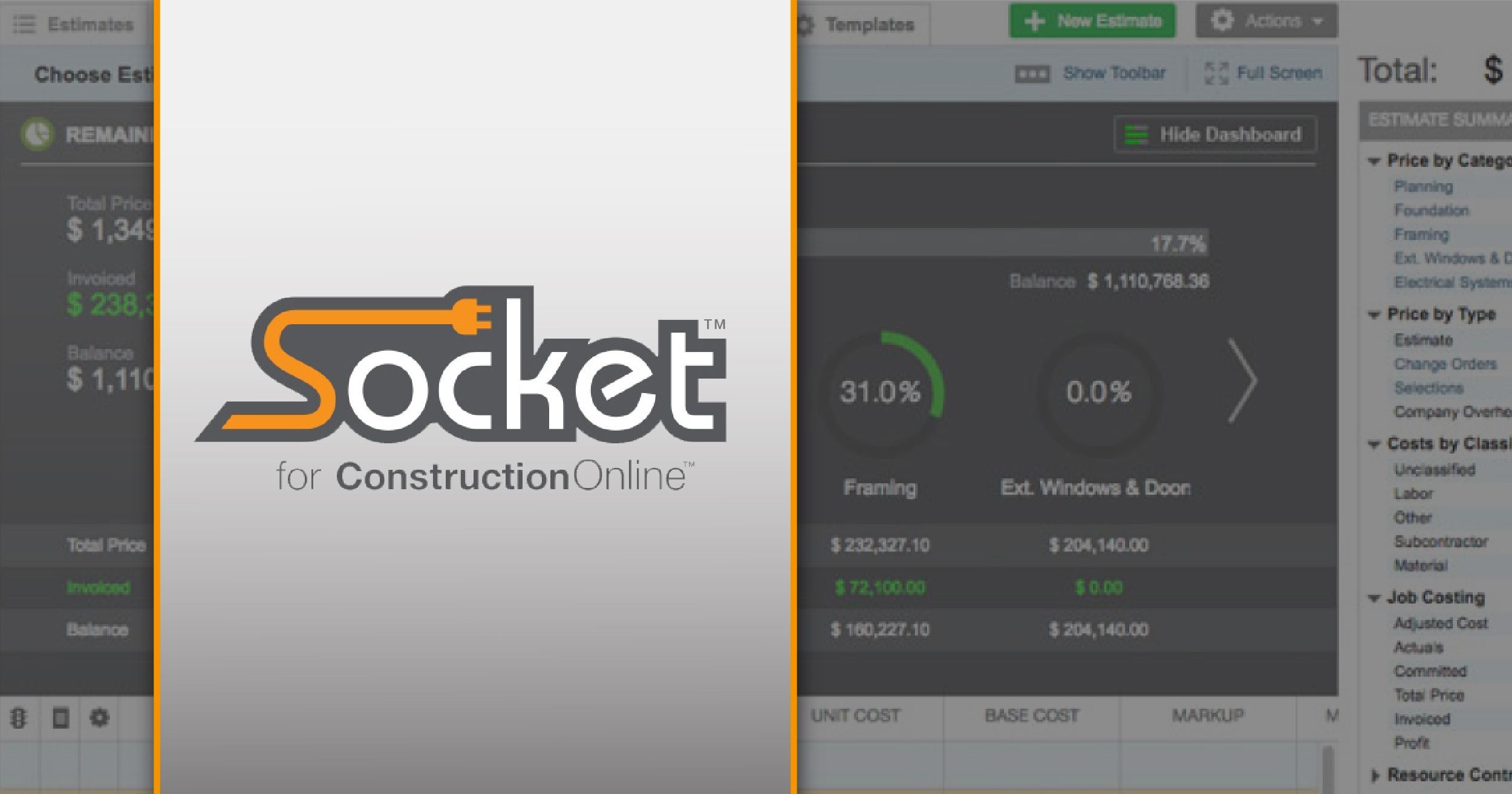 ConstructionOnline Socket: Bringing the Power of the Desktop to the Cloud