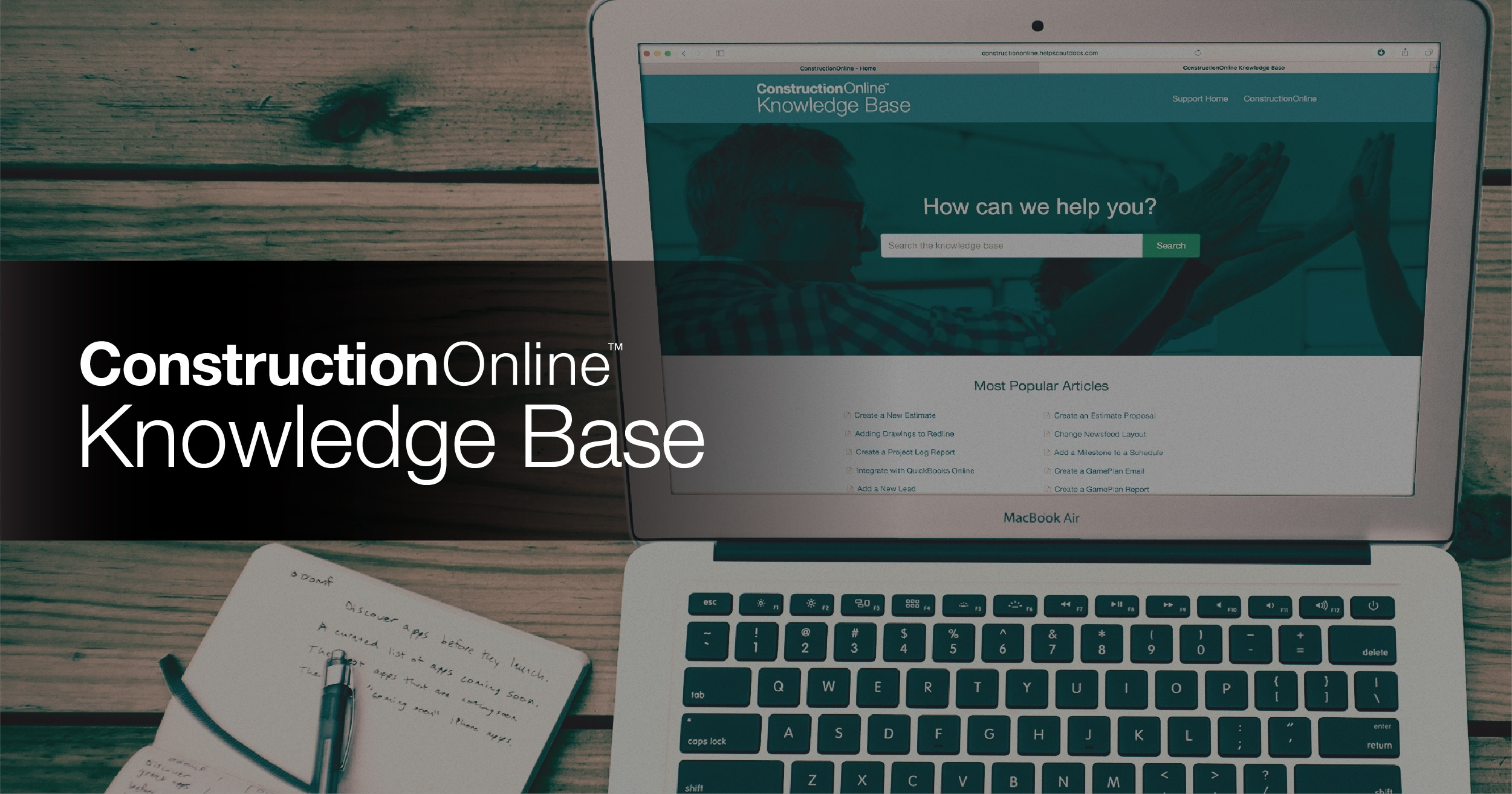ConstructionOnline Enhances User Experience with Comprehensive Knowledge Base