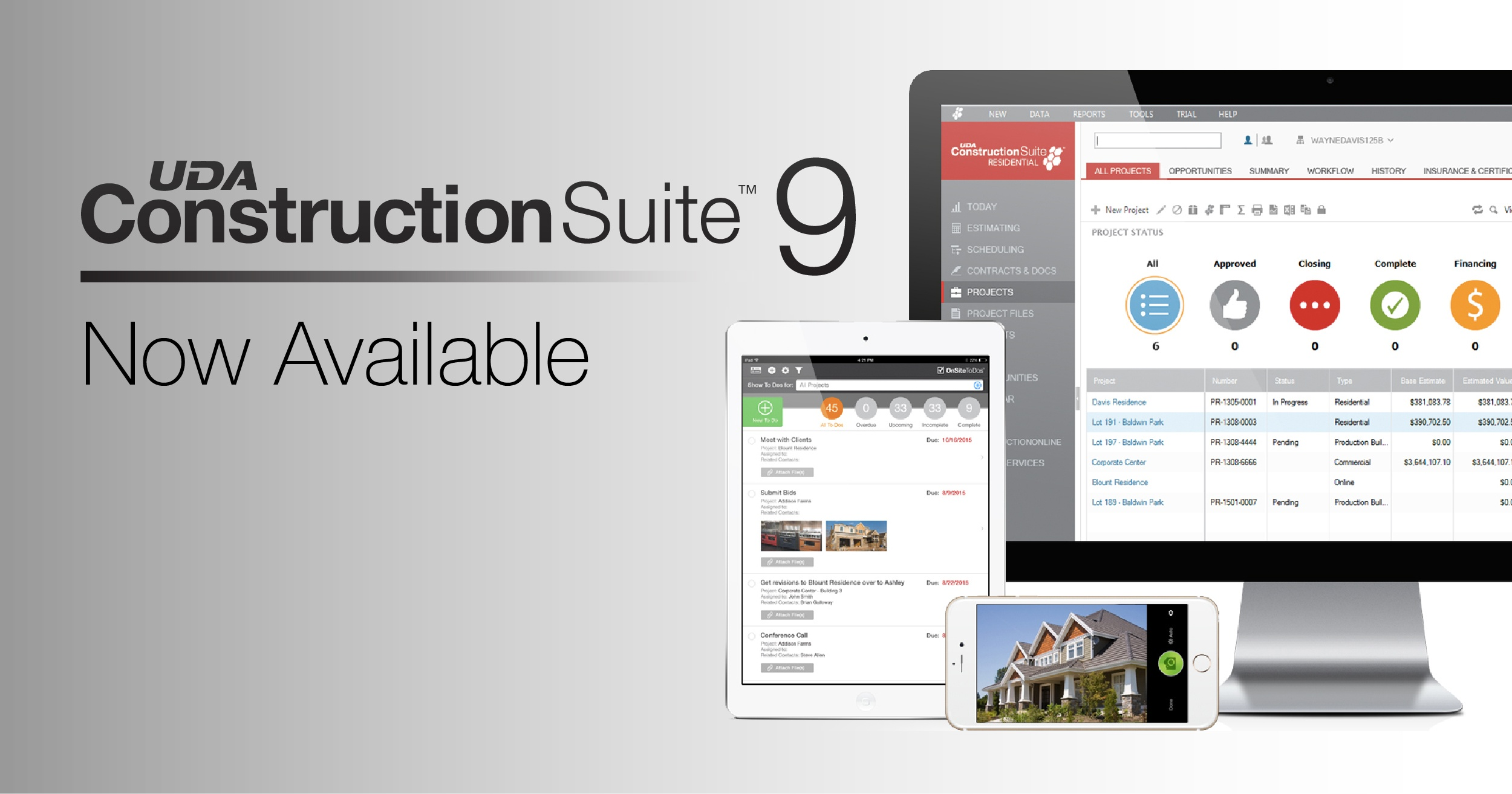 ConstructionSuite 9 Now Available