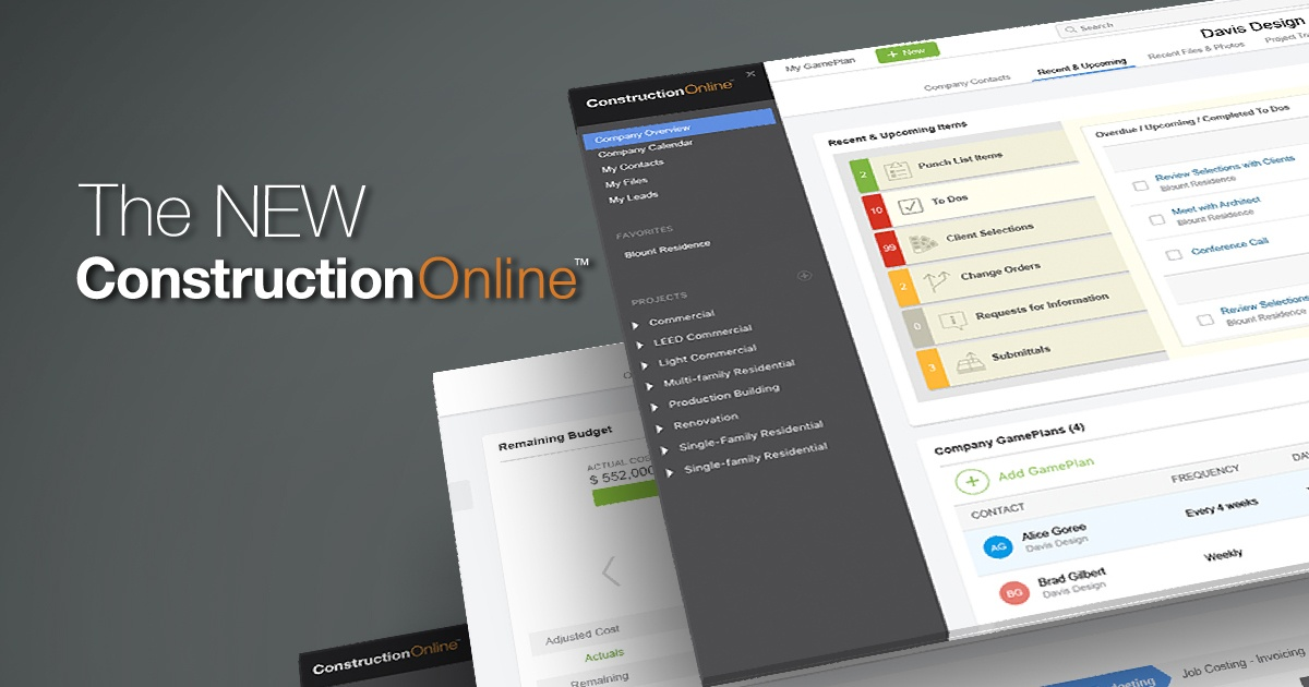 UDA Debuts All-New ConstructionOnline