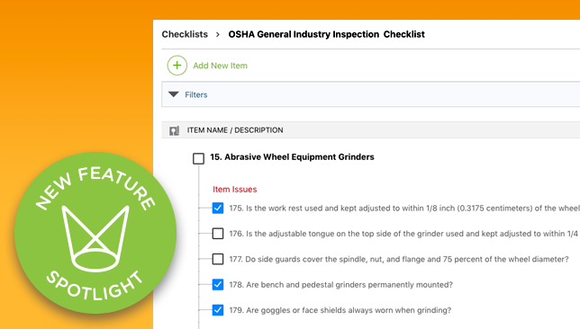 Check it out! All-New for ConstructionOnline: Checklists