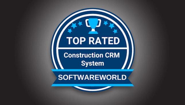 ConstructionOnline Named Top 10 Construction CRM by SoftwareWorld