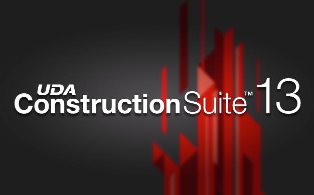 UDA Announces Release of ConstructionSuite™ 13